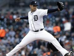 tigers pitcher sanchez strikes out 17 in shutout